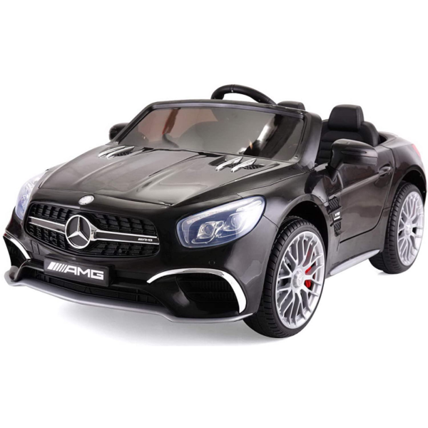 12V Mercedes Benz Licensed Kids Ride On Car with Remote Control, Black 下载 101