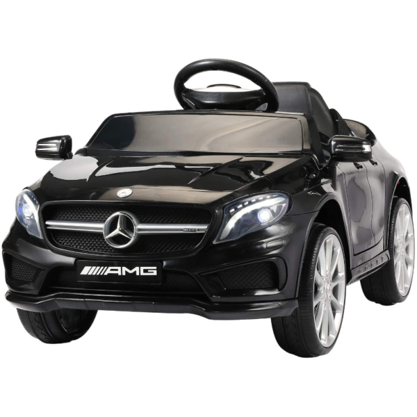 Mercedes Benz Licensed Electric Kids Ride on Cars Remote Control, Black 下载 12 2