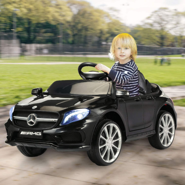 Mercedes Benz Licensed Electric Kids Ride on Cars Remote Control, Black 下载 13 2