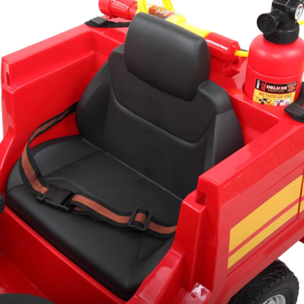 12V Kids Ride on Toys Fire Truck Real Driving Experience with Remote Control, Red 下载 26 2