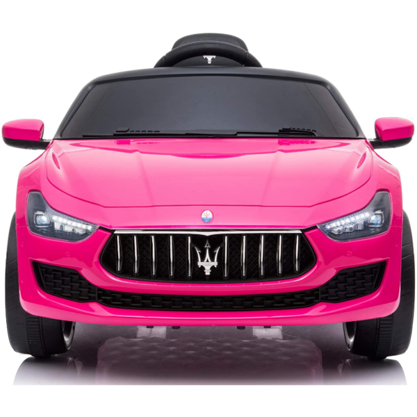 12V Maserati Licensed Kids Ride On Car with Remote Control, Pink 下载 28 2