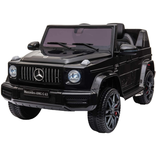 12V Mercedes-Benz AMG G63 Kids Ride On Cars Toys with Remote Control, Black 下载 3