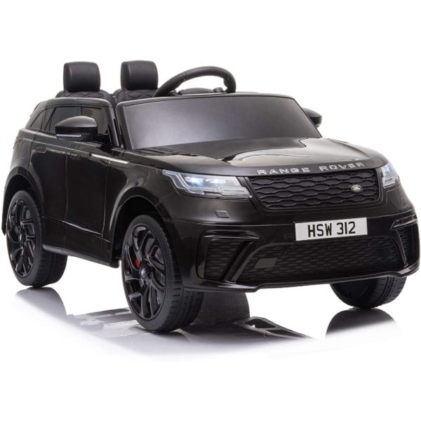 12V Land Rover Licensed Electric Kids Ride On Car with Remote Control, Black 下载 32
