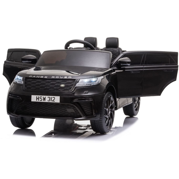 12V Land Rover Licensed Electric Kids Ride On Car with Remote Control, Black 下载 33