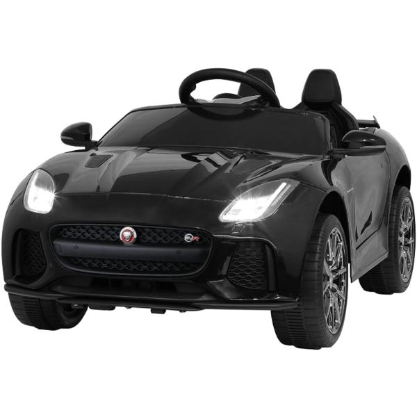 Jaguar F-Type SVR Kids Electric Ride on Car Toy with Dual Motor, Black 下载 39