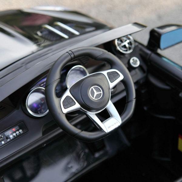 12V Mercedes Benz Licensed Kids Ride On Car with Remote Control, Black 下载 4 5