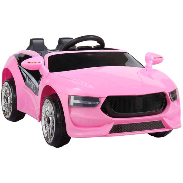 6V Kids Electric Ride On Racing Car with Remote Control, Pink 下载 52