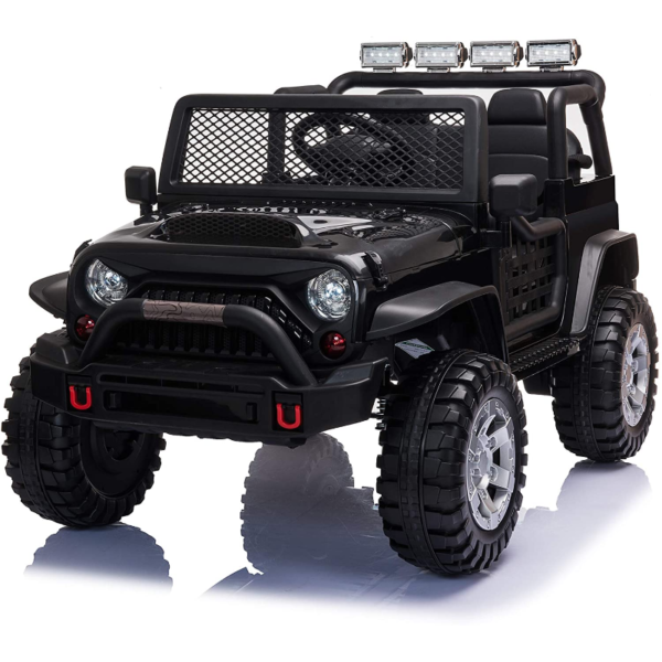 12V Electric Ride On Truck for Kids with Remote Control, Black 下载 59