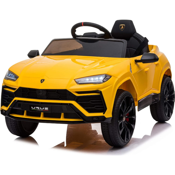 12V Lamborghini Licensed Electric Kids Ride on Car with Remote Control, Yellow 下载 6 1