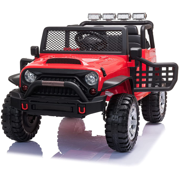 12V Extra Large Electric Ride On Truck for Kids with Remote Control, Red 下载 81