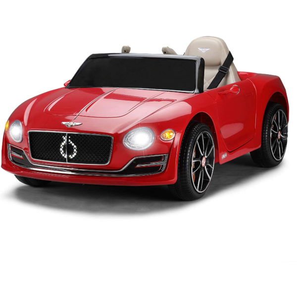 12V Bentley Licensed Electric Kids Ride On Racer Cars Toy with Remote Control, Red 下载 95