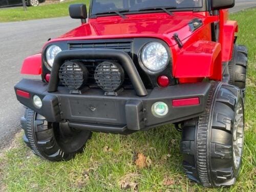12V Kids Jeep Wrangler Electric Car W/ RC photo review