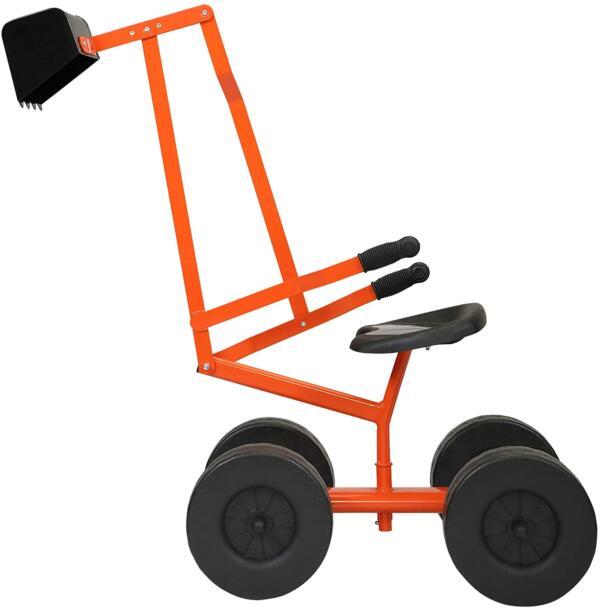 Kids Ride On Sandbox Digger Toys Little Sandbox Excavator for Boys and Girls, Orange 1 15