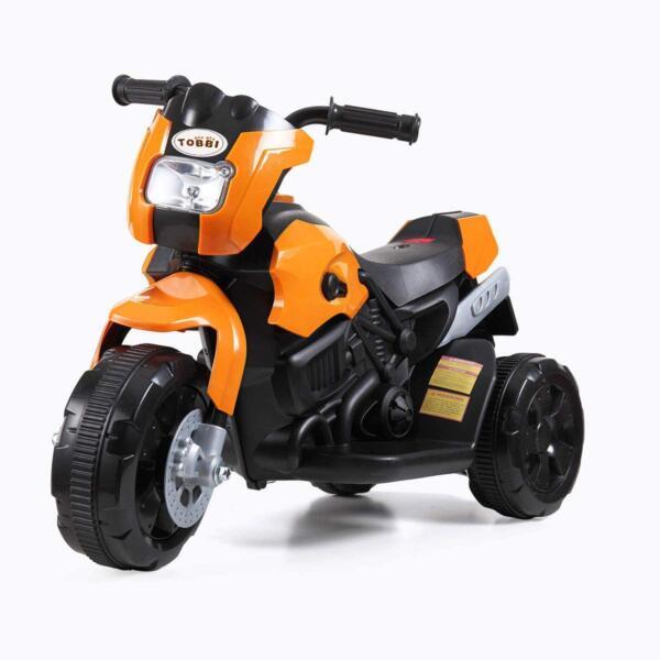 6V Kids Motorcycle Battery Powered Motorcycle for Kids, Orange 1 16