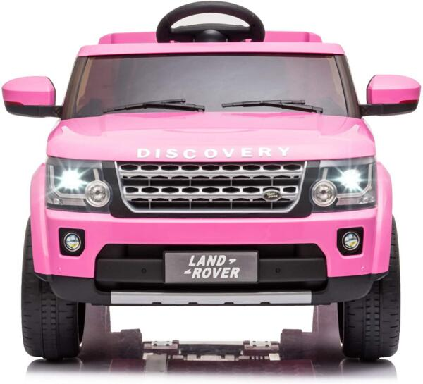 12V Licensed Land Rover Power Wheels Ride on SUV for Kids with Remote Control, Pink 1 19