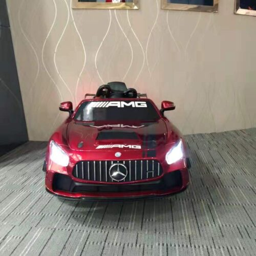 12V Electric Licensed Mercedes Benz AMG GT Kid Ride on Car, Red photo review