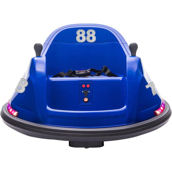 6V Electric Baby Bumper Car with Remote Control, Dark Blue 1 23