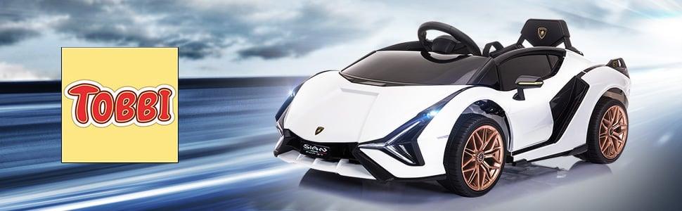 Licensed Lamborghini Sian 12V Children's Electric Ride On Car Toy 1 26