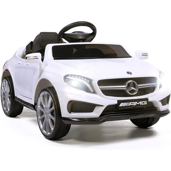 Licensed Mercedes Benz RC Car Toy with Double Doors, White 1 30