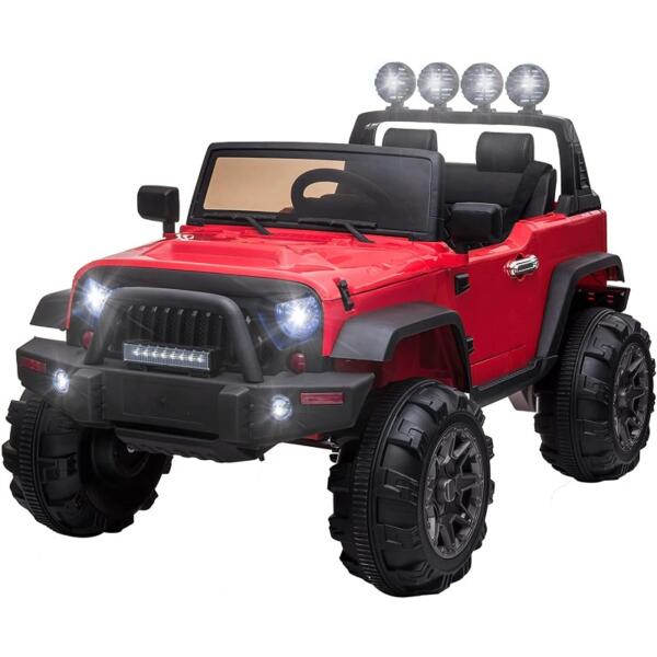 12V Ride On Truck Cars Battery Operated Electric Cars w/ Music, Horn 1 35