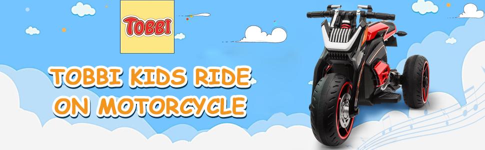 12V Kids Motorcycle Toy 3 Wheels Electric Trike 1 36