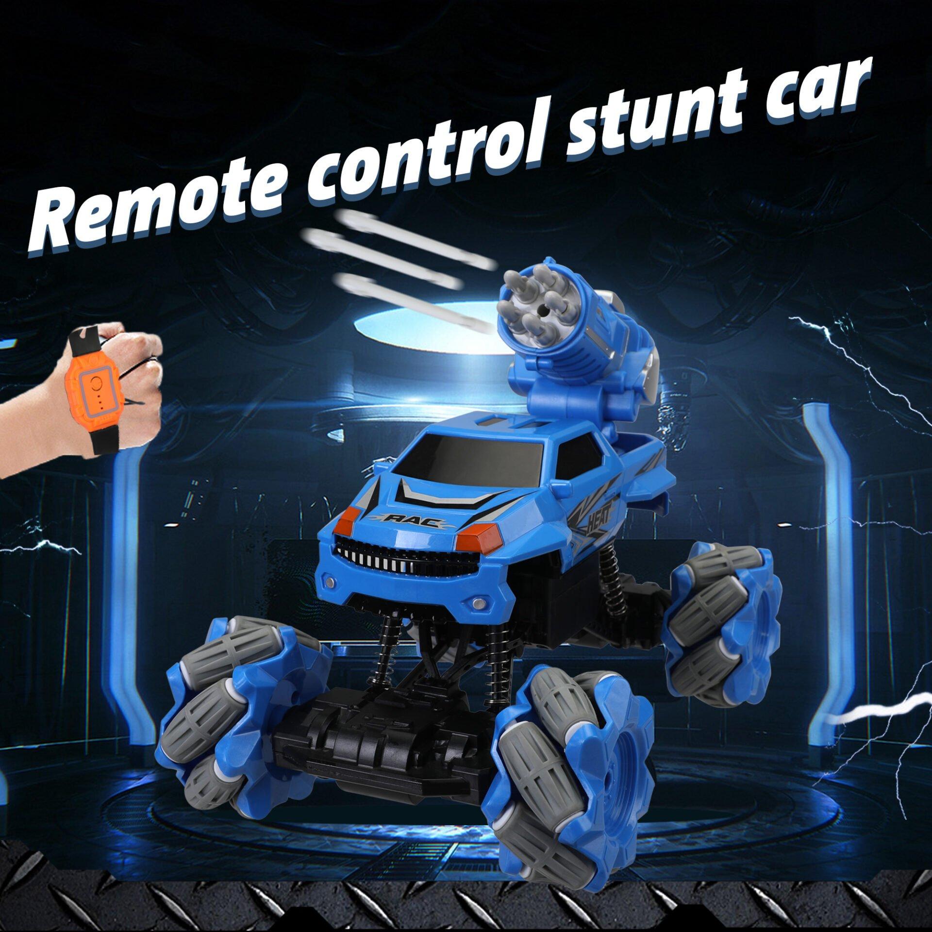 Gesture Sensing RC Stunt Car for Kids, Blue 1 4