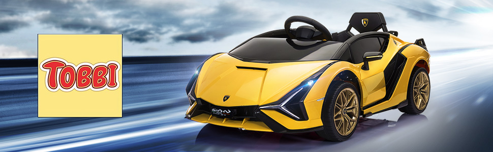 Licensed Lamborghini Sian Car Toy w/ Scissor Door 1 45