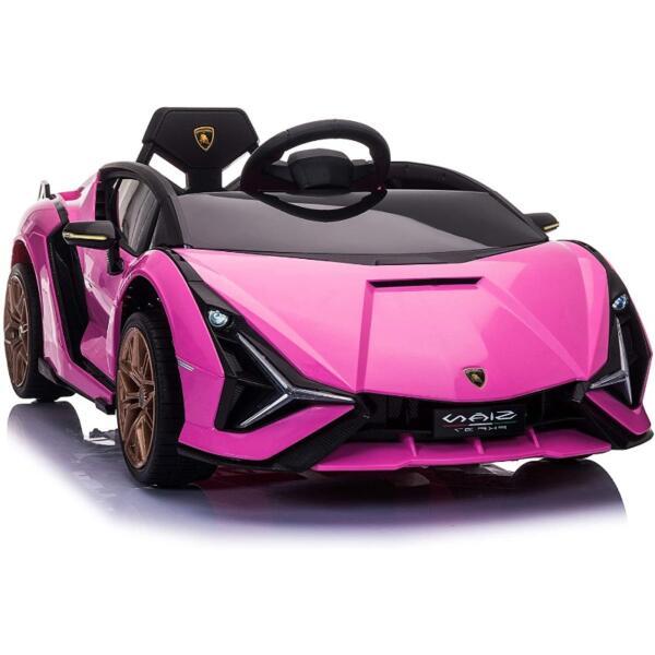 12V Kids Car Licensed Lamborghini Sian with Remote Control for Girls 1 52