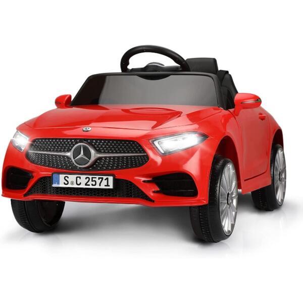 Licensed Mercedes Benz CLS 350 Ride On Car for Kids, Red 1 53