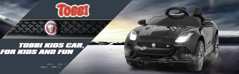 12V Kids Electric Ride on Car Toy Jaguar F-Type SVR 1 61
