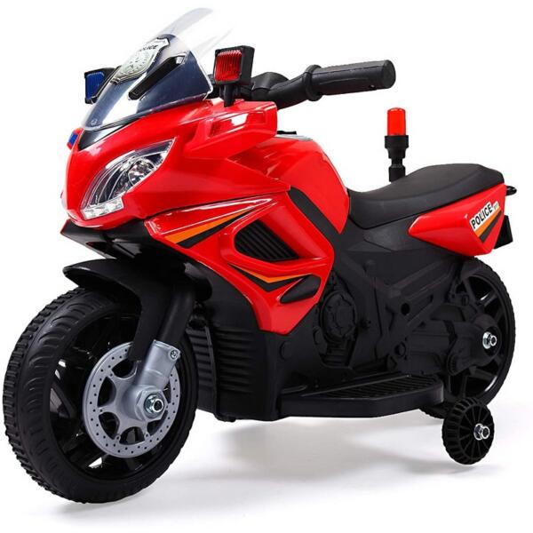 Kids Ride On Electric 4 Wheel Police Motorcycle for 2-4 Years 1 69