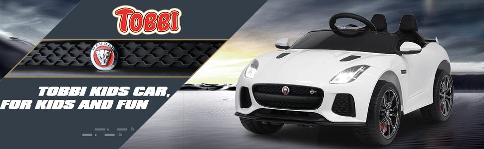 12V Battery Powered Ride-on Jaguar F-Type SVR Car Toy 1 70