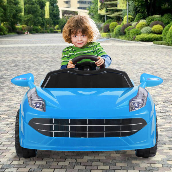 6V Kids Ride-on Sports Car Rechargeable Toy Vehicle 1 72