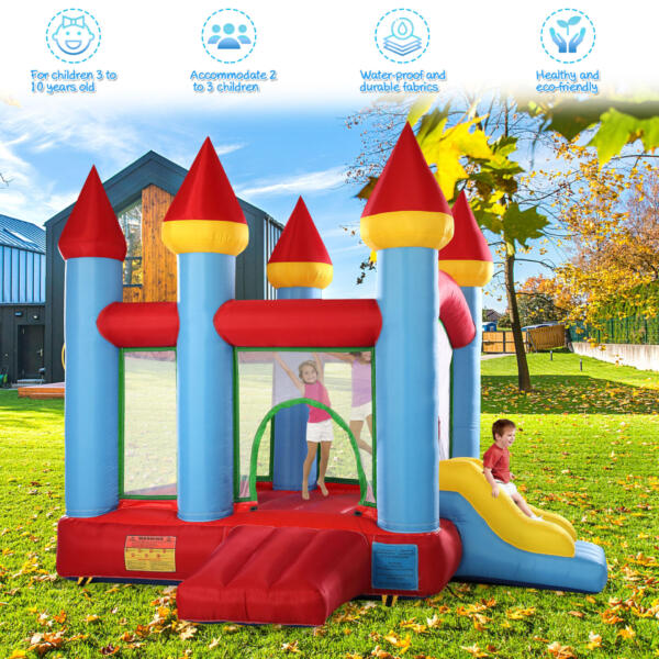 Inflatable Bounce House Jumping Castle with Slide 1 76