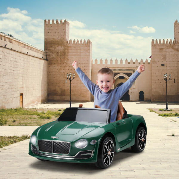 12V Bentley Ride On Car With Remote Control For Kids, Blackish Green 1 79