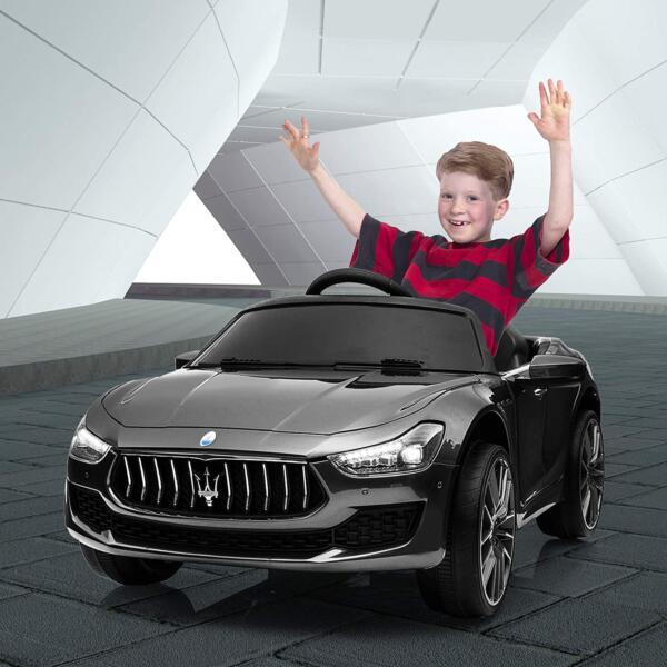 Maserati Kids Car 12V Ride On With Remote, Black 1 99