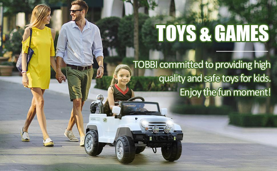 12V Kid Ride on Electric Truck Toy for Kids, White 11 29