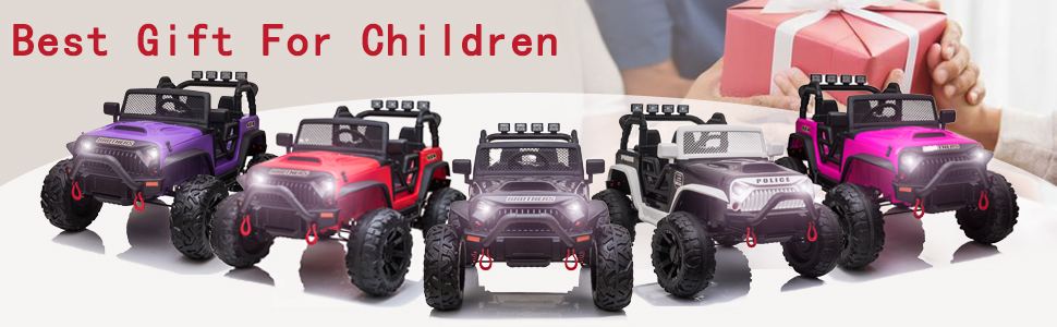 12V Remote Control Ride On Jeep Electric Car for Child 11 31