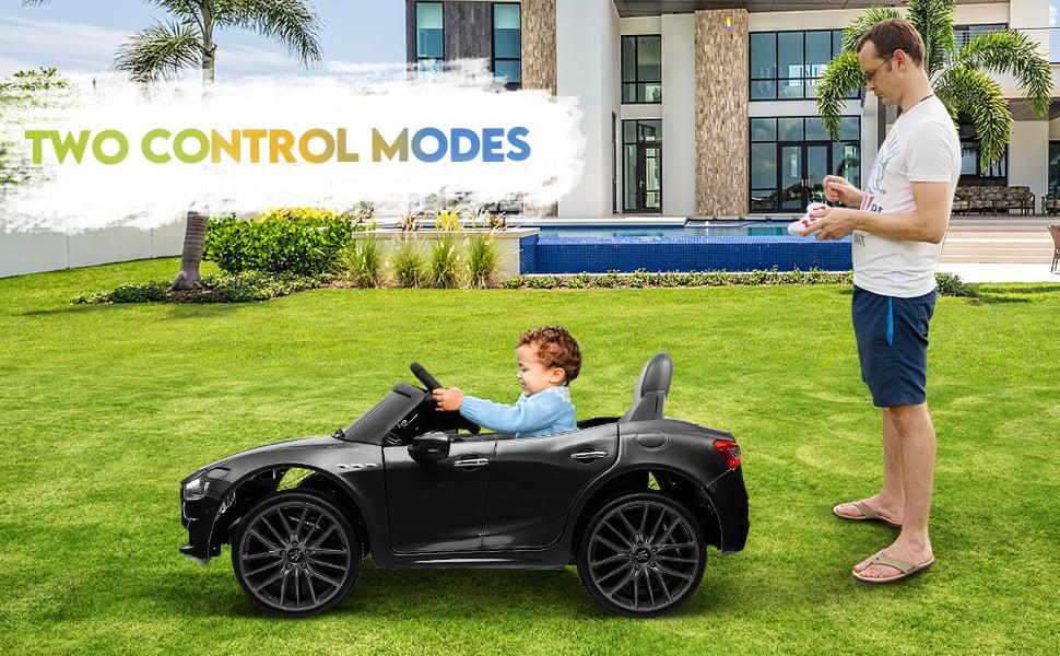Maserati Kids Car 12V Ride On With Remote, Black 12 23