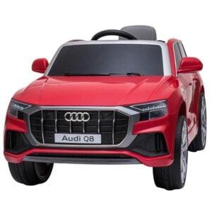 Selling 12v audi q8 kids ride on car red 1 best selling on TOBBI