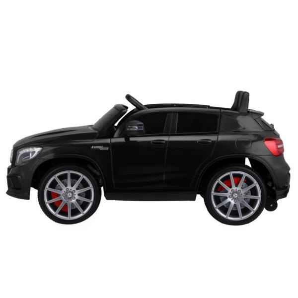 12V Mercedes Benz GLA45 Kids 2 Seater Power Wheels With Remote, Black 12v benz licensed gla45 kids electric car black 0