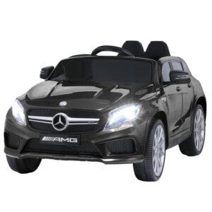 Selling 12v benz licensed gla45 kids electric car black 10 best selling on TOBBI