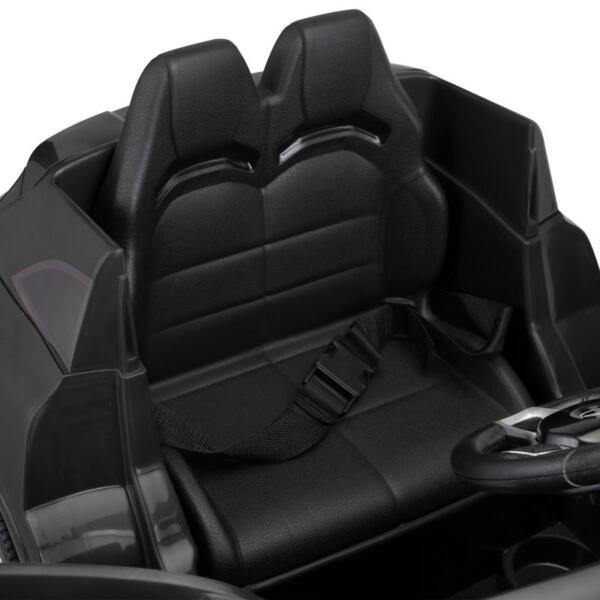 12V Mercedes Benz GLA45 Kids 2 Seater Power Wheels With Remote, Black 12v benz licensed gla45 kids electric car black 28