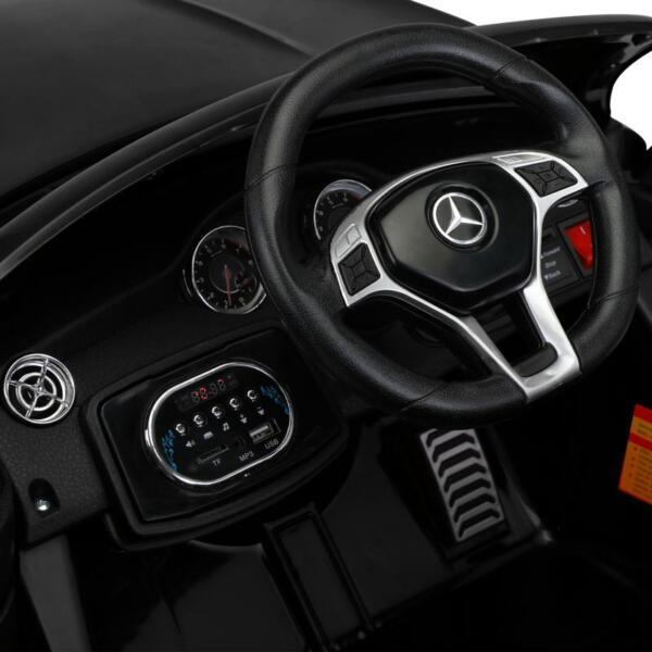 12V Mercedes Benz GLA45 Kids 2 Seater Power Wheels With Remote, Black 12v benz licensed gla45 kids electric car black 29