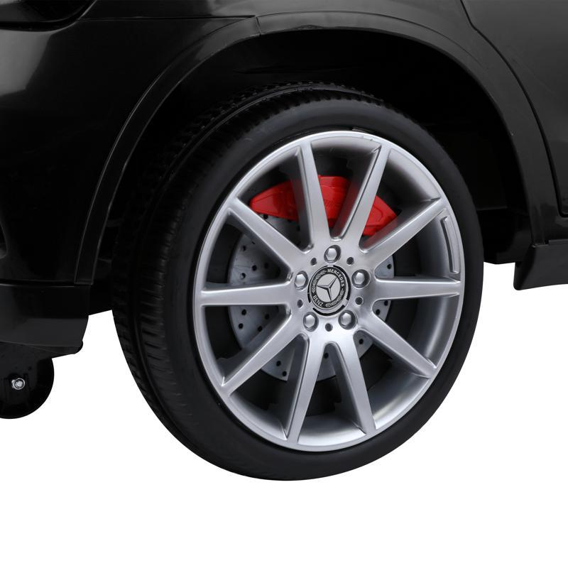 12V Mercedes Benz GLA45 Kids 2 Seater Power Wheels With Remote, Black 12v benz licensed gla45 kids electric car black 31 1