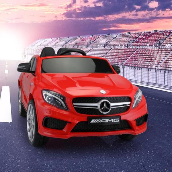 12V Mercedes Benz GLA45 Kids 2 Seater Power Wheels With Remote, Red 12v benz licensed gla45 kids electric car red 15