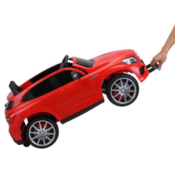 12V Mercedes Benz GLA45 Kids 2 Seater Power Wheels With Remote, Red 12v benz licensed gla45 kids electric car red 25