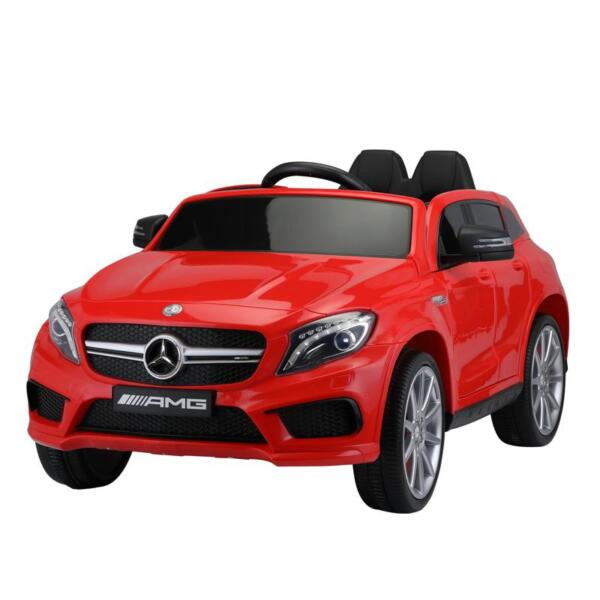 12V Mercedes Benz GLA45 Kids 2 Seater Power Wheels With Remote, Red 12v benz licensed gla45 kids electric car red 5