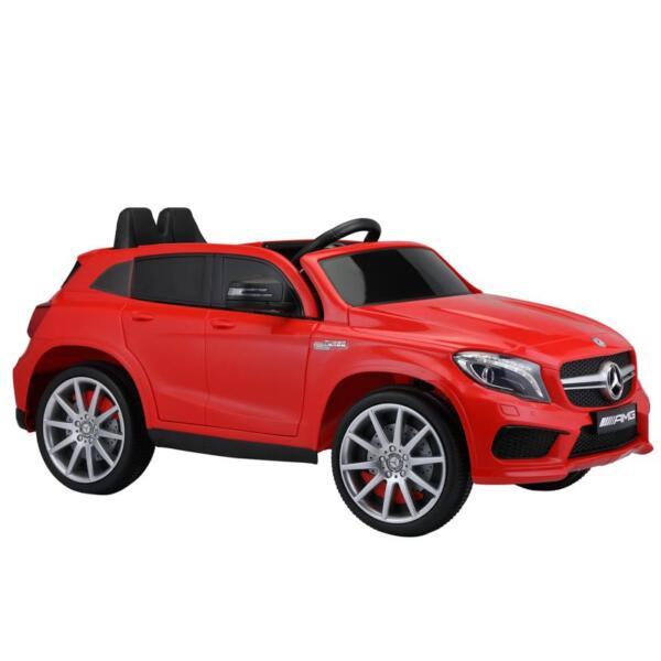 12V Mercedes Benz GLA45 Kids 2 Seater Power Wheels With Remote, Red 12v benz licensed gla45 kids electric car red 7