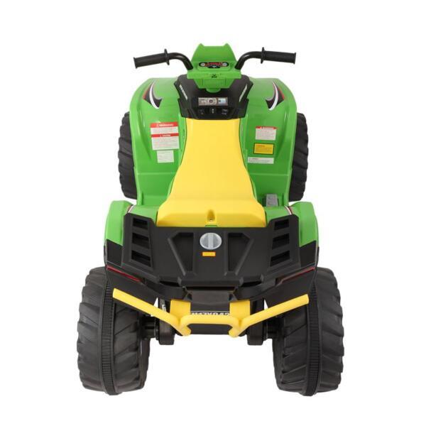 12V Battery Powered Kids Atv Ride On, Green 12v electric atv for kids green 0